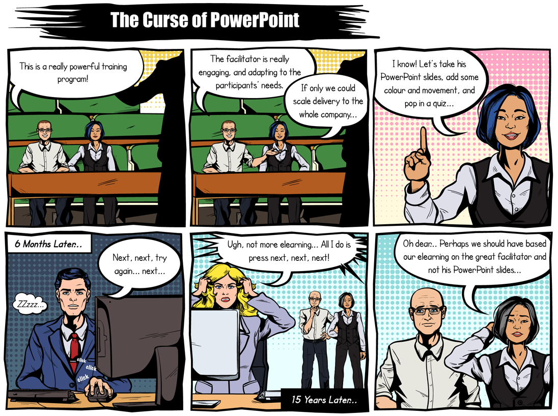 The Curse of Powerpoint by Guroo Producer
