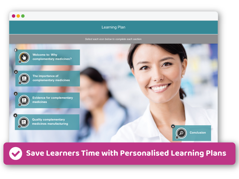 Personalised Learning Plans